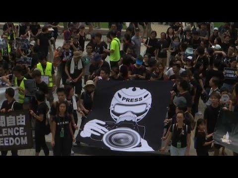 China: Proteste in Hongkong gegen Auslieferungsgesetz ...