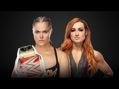 Ronda Rousey Vs Becky Lynch Promo (my Way - Limp Bizkit) | Wwe Wrestlemania 35