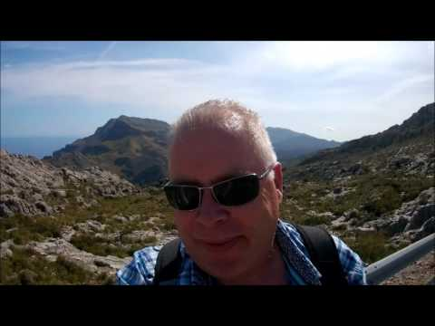 Tramuntana Mountans Mallorca May 2016 (видео)