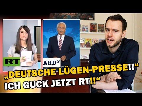 """""""Deutsche Lügenpresse!! Ich Guck Jetzt RT!"""""""