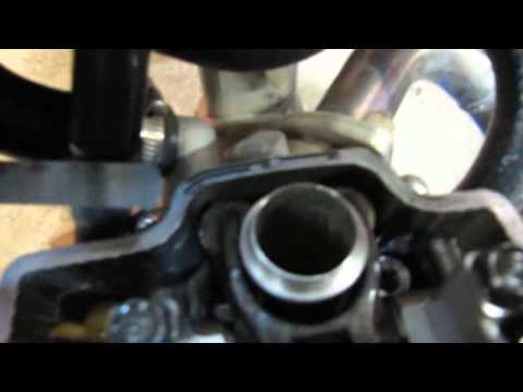 crf250r - Attempt at explaining how to check valve clearances on a CRF250R for an english project. Look into your Honda manuals or look it up online to find exact spec...