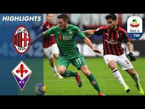 Milan 0-1 Fiorentina   Chiesa Solo Effort Makes the Difference in Milan   Serie A
