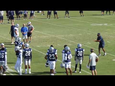 The Dallas Cowboys -  the dallas cowboys  2018 training camp  🔥🔥🔥
