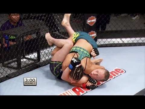 lisa - Jessica Penne put Lisa Ellis away for a second time but this one moves her forward in The Ultimate Fighter tournament as she made quick work of the Team Melendez fighter with a first round...