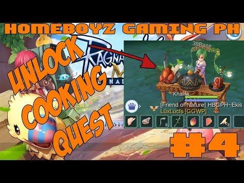 How To Unlock Cooking Quest In Ragnarok Mobile | HBGPH - ROM #4