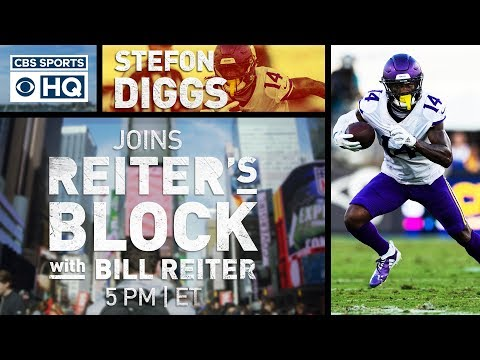 Video: Stefon Diggs on Kirk Cousins' Dad Moves and Minnesota's Improvement | Reiter's Block