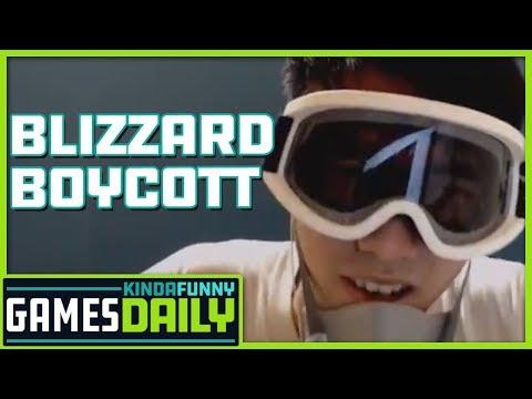 Blizzard Boycott - Kinda Funny Games Daily 10.09.19