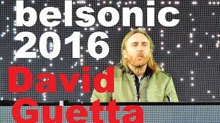 David Guetta belsonic Belfast 2016