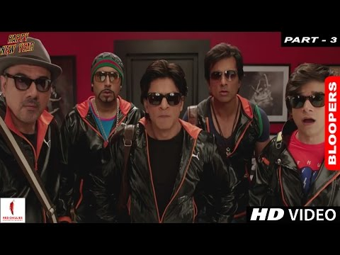 Happy New Year - A Farah Khan Film | Bloopers (Part 3)