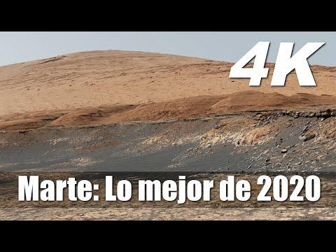Nuevas imágenes de Marte 4K: Lo mejor de 2020