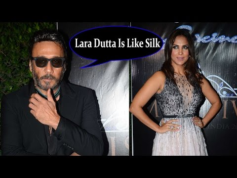 Jackie Shroff:Lara Dutta Is Like Silk