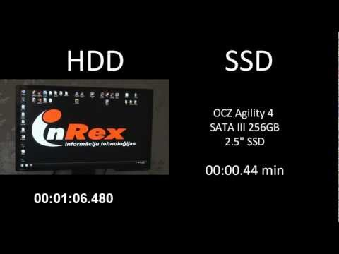 HDD Raptor 10000RPM vs SSD / Boot time