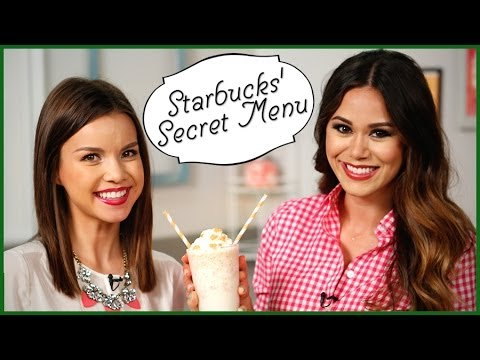3 Secret Starbucks' Drinks You Can Make at Home! w/ Missglamorazzi | Eat the Trend