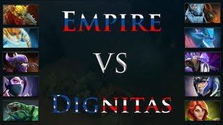 [#014] Empire vs Dignitas - Dreamhack Winter 2012 - DOTA 2 FR