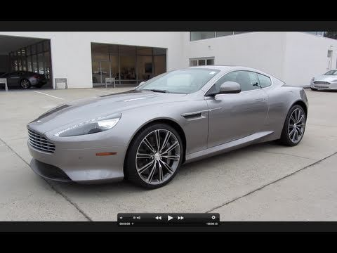 aston martin virage - test drive