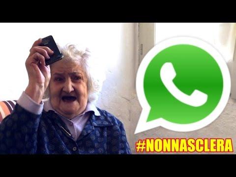 whatsapp e la nonnina