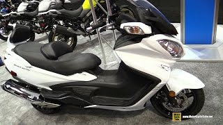 9. 2017 Suzuki Burgman 650 Executive Scooter - Walkaround - 2016 AIMExpo Orlando
