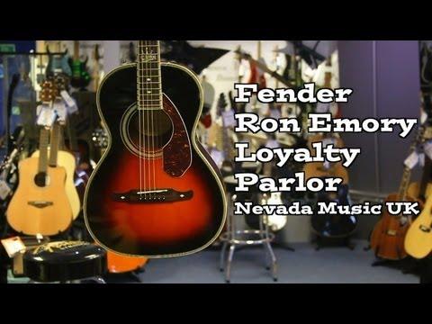 Fender RON EMORY 'Loyalty' Parlor Vintage Sunburst