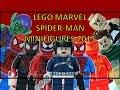 LEGO MARVEL SUPERHEROES SPIDER-MAN SUMMER 2015 MINIFIGURES