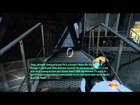 Portal 2 (spoilers) - Lemon Rant