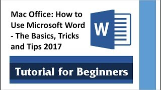 Video Mac Office: How to Use Microsoft Word - The Basics, Tricks and Tips 2017 MP3, 3GP, MP4, WEBM, AVI, FLV Juli 2018
