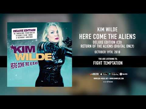 """Kim Wilde """"Fight Temptation"""" - Official Song Stream - """"Here Come The Aliens"""" Deluxe Edition"""