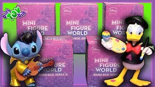 """We open up some super fun Disney Mini Figure World Series 2 blind boxes! This series includes figures of Mickey Mouse, Tigger, Stitch, Donald Duck, and many others! SUBSCRIBE and never miss a video! http://www.youtube.com/subscription_center?add_user=BinsToyBinAbout Bin's Toy Bin →Adventures in toy collecting! Join husband and  wife team, Bin and Jon (and their son Teagan, too) as they review the latest (and sometimes not-so-latest) toys in their own unique way! Check back daily for new videos!  Also be sure to visit our 2nd YouTube channel for our Family Vlogs!GET YOUR OFFICIAL BIN'S TOY BIN GEAR! →  http://binstoybin.spreadshirt.com/Follow Bin & Jon → Bin's Toy Bin Family Vlogs (Our 2nd YouTube Channel): http://www.youtube.com/BinsToyBinTravelOfficial Site: http://binstoybin.com/IG: @binstoybinFB: https://www.facebook.com/BinsToyBinSnapchat: real_binstoybinTwitter: @BinsToyBinG+: https://plus.google.com/+BinsToyBinMUSIC USED:""""Beach Front Property"""" by Silent Partner from YouTube Audio Library"""