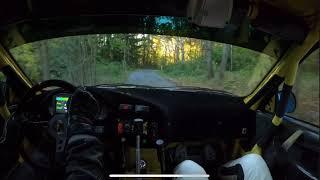 Kozacki pokaz umiejętności pilota rajdowego. Gość jeździ bez notatek