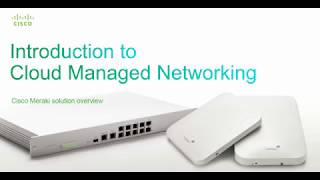 Introduction to CISCO MERAKI a complete Network Solution.Cisco Meraki: a complete cloud-managed networking solution -Wireless, switching, security, WAN optimization, and MDM, centrally managed over the web -Built from the ground up for cloud management -Integrated hardware, software, and cloud services  Leader in cloud-managed networking -Among Cisco's fastest-growing portfolios: over 100% annual growth -Tens of millions of devices connected worldwide  Recognized for innovation -Gartner Magic Quadrant, InfoWorld Technology of the Year, CRN Coolest Technologies www.meraki.cisco.com