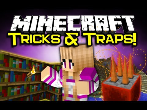 Minecraft TORCH LEVERS & MORE MOD Spotlight! – Secrets, And Traps! (Minecraft Mod Showcase)