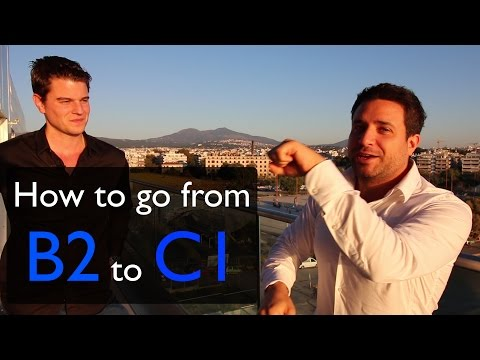 How To Go From Speaking A Language At B2 To C1 - With Luca Lampariello