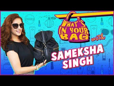 Sameksha Singh aka Olympias Handbag Secret Reveale