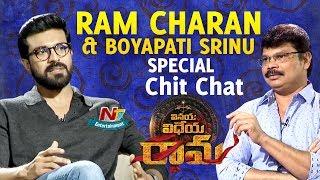 Ram Charan and Boyapati Srinu Special Interview about Vinaya Vidheya Rama Movie