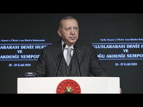 Ερντογάν: «Κακομαθημένες Ελλάδα και Κύπρος»