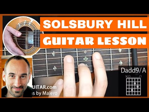 F – Solsbury Hill Guitar Lesson – part 1 of 4