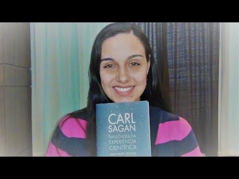 """Crítica ao livro """"Variedades da experiência científica"""" - Carl Sagan - #51"""