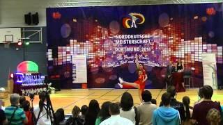 Christina Bischoff-Moos & Lukas Moos - Norddeutsche Meisterschaft 2014