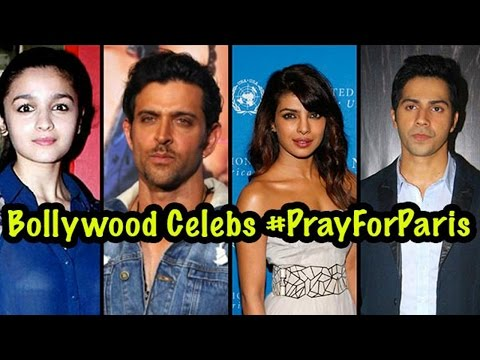 Bollywood Celebrities #PrayForParis Attack Victims