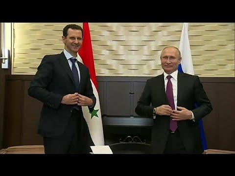 Syrischer Präsident Assad bei Putin in Sotschi