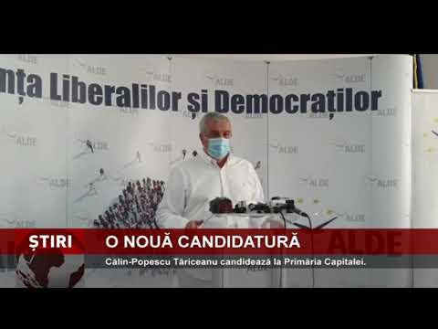 Călin-Popescu Tăriceanu candidează la Primăria Capitalei