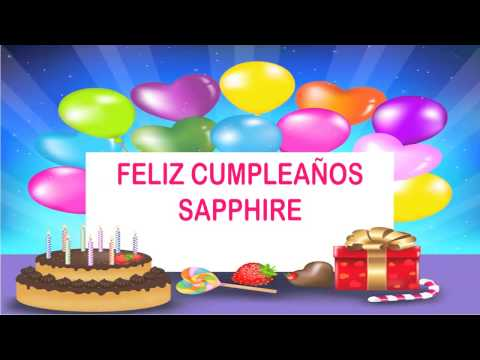 Sapphire   Wishes & mensajes Happy Birthday