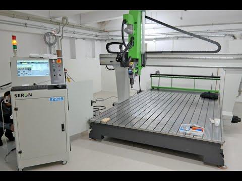 Фрезерный станок с ЧПУ (CNC) SERON 2131 PROFESSIONAL 2019