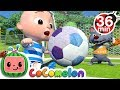 Download Lagu The Soccer (Football) Song + More Nursery Rhymes & Kids Songs - CoCoMelon Mp3 Free