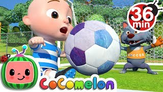Download Video The Soccer (Football) Song + More Nursery Rhymes & Kids Songs - CoCoMelon MP3 3GP MP4