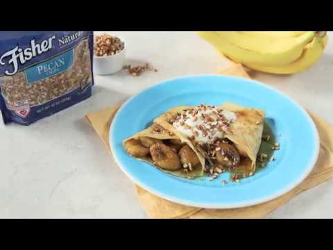 Bananas Foster Crepes Recipe
