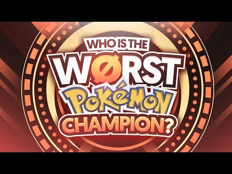 Video Who Is The Worst Pokemon Champion? download in MP3, 3GP, MP4, WEBM, AVI, FLV January 2017