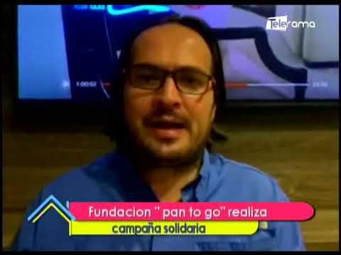 Fundación pan to go realiza campaña solidaria