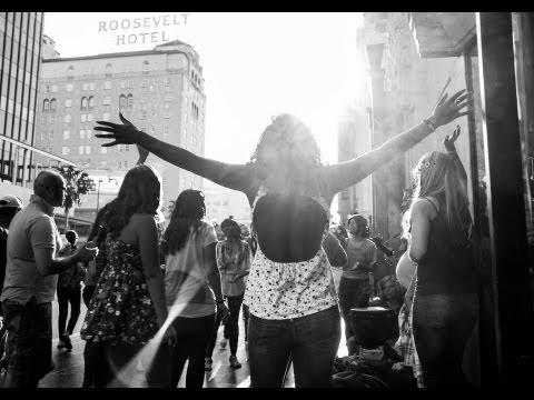 Street Photography with Rinzi Ruiz in Hollywood VLOG