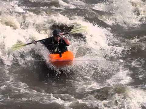 White water kayaking May 18, 2013