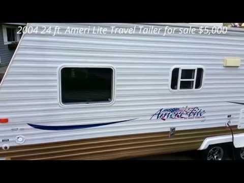 24 ft. 2004 Ameri Lite LE by Gulf Stream Travel Trailer for sale. $5,000